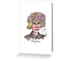 Tove Jansson Greeting Card