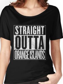 Straight Outta Orange Islands Women's Relaxed Fit T-Shirt