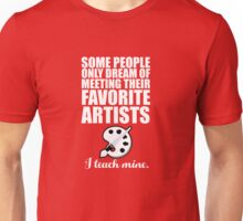 Favorite Artists Unisex T-Shirt
