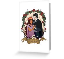 Deadly ever after Greeting Card