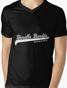 Benalla Bandits Baseball Mens V-Neck T-Shirt