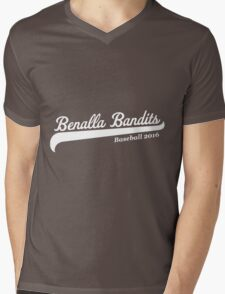 Benalla Bandits Baseball Mens V-Neck T-Shirt
