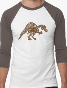 Extinct Lil' Spinosaurus Men's Baseball ¾ T-Shirt