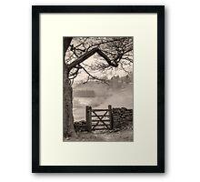 Misty delight. II Framed Print
