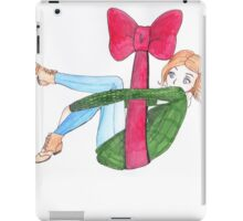 Christmas bow iPad Case/Skin