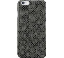 Tattered Silver Medieval Chainmail Armour Texture Background iPhone Case/Skin