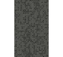 Tattered Silver Medieval Chainmail Armour Texture Background Photographic Print