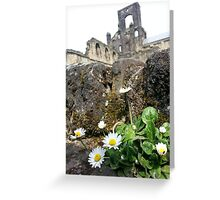 Past and Present Greeting Card