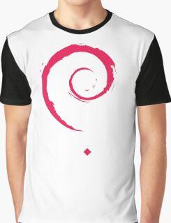 Debian Linux Tees Graphic T-Shirt