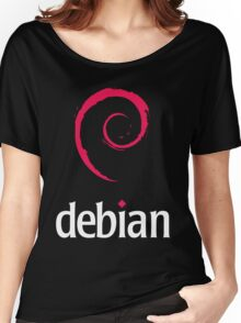 Debian Linux Tees Women's Relaxed Fit T-Shirt