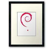 Debian Linux Tees Framed Print