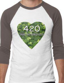 Smoke that Broccoli. Men's Baseball ¾ T-Shirt