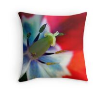 Tulip inside Throw Pillow