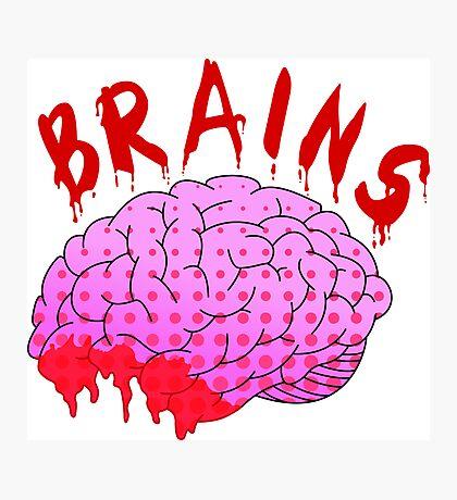 Bloody Brains - Light Photographic Print