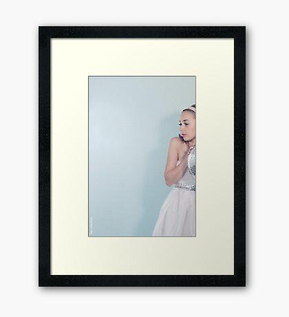 Le loup. Framed Print