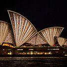 Fan Sails - Sydney Vivid Festival by Bryan Freeman