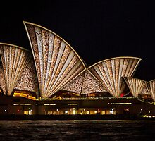Fan Sails - Sydney Vivid Festival by Bryan Freeman
