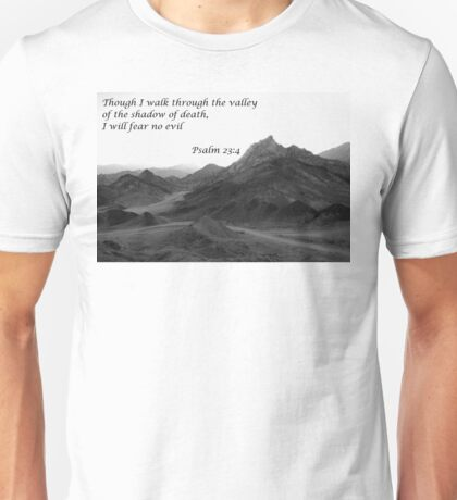 Valley of the Shadows of Death Unisex T-Shirt