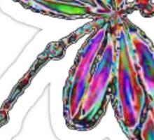 Neon Dragonfly  Sticker