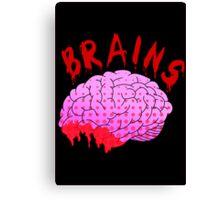 Bloody Brains - Dark Canvas Print