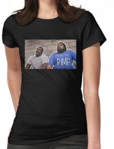 Trading Placers - Mr Big Time Pimp... YEAH Womens Fitted T-Shirt