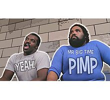 Trading Placers - Mr Big Time Pimp... YEAH Photographic Print