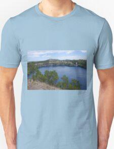 Blue Lake, Mt Gambier Unisex T-Shirt