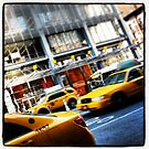 New York City Taxi Cabs by crashbangwallop