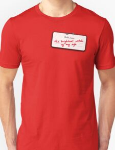 Hermione's name tag Unisex T-Shirt