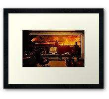 The Wizard's Office Framed Print