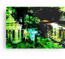 Dream : Two Houses Metal Print