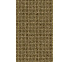 Brown Sackcloth Weave Pattern Texture Background Photographic Print