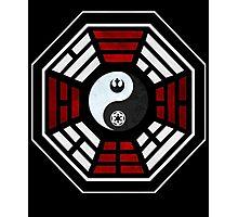 star wars yin yang version 4  Photographic Print