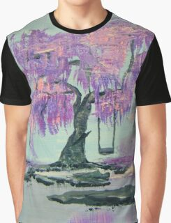 Lilac Dreams Graphic T-Shirt