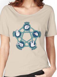 Rock Papers Scissors Shirt Women's Relaxed Fit T-Shirt