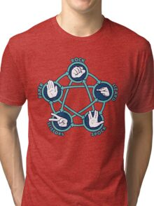 Rock Papers Scissors Shirt Tri-blend T-Shirt