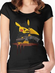 BloodBorne: Special Pikachu Edition Women's Fitted Scoop T-Shirt