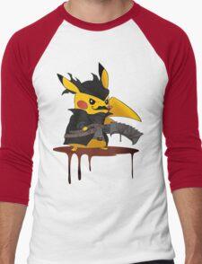 BloodBorne: Special Pikachu Edition Men's Baseball ¾ T-Shirt