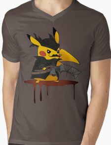 BloodBorne: Special Pikachu Edition Mens V-Neck T-Shirt