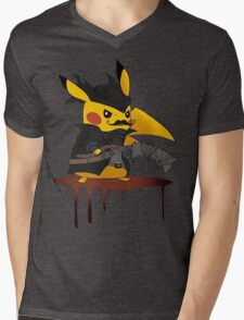 BloodBorne: Special Pikachu Edition Mens V-Neck T-Shirt