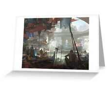 Ho Chi Minh City Night Market Greeting Card