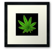 Sweet Leaf Framed Print