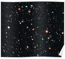 Hubble Extreme Deep Field Image of Outer Space Poster