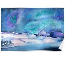 AURORA SNOW Poster