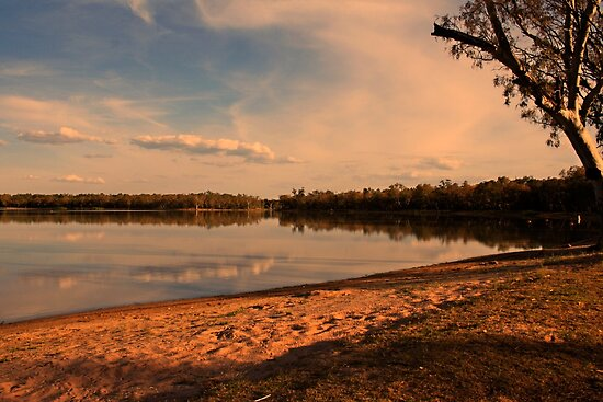 Early Morning at Yarrie Lake by myraj