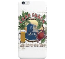 crab shack iPhone Case/Skin