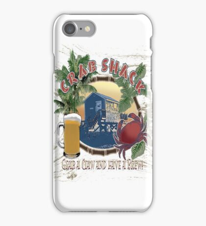 crab shack iPhone Case/Skin