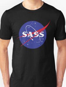 SASS - sassy, feminist, girl geek, nerdy, female scientist gift, nasa gift, astronaut gift, space, cosmos, galaxy Unisex T-Shirt