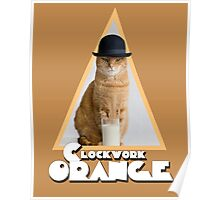 A Clockwork Orange (Cat) Poster
