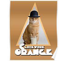 A Clockwork Orange (Cat) Poster
